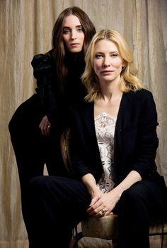 Rooney Mara & Cate Blanchette #carol