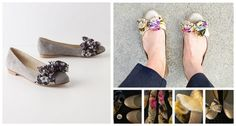 Bow Flats | 50 DIY Anthropologie Hacks For Every Facet Of Your Life