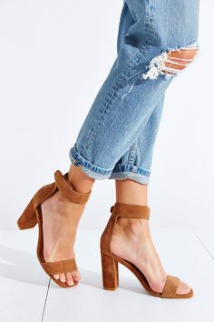 Jeffrey Campbell Holvey Suede Heel - Urban Outfitters