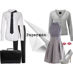 """""""Paperman"""" <3 I loved this short it was one of my favorites of all time. I would love these as the wedding party clothing"""