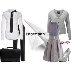 """Paperman"" by lostwendy on Polyvore"