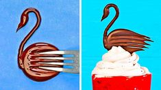 Easy And Cool Hacks For Chocolate Decor That Anyone Can Make Cake Decorating Frosting, Cake Decorating Videos, Cake Decorating Techniques, Cookie Decorating, Chocolate Garnishes, Food Garnishes, Chocolate Garnish Recipe, Decoration Patisserie, Dessert Decoration
