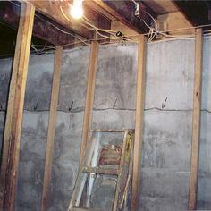 10 best basement crack leak waterproofing images concrete basement rh pinterest com