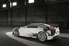 Lexus LFA art car celebrates 10 years of F performance brand Lexus Lfa, Racing Team, Exterior Colors, Art Cars, 10 Years, Super Cars, Celebrities, Vehicles, Spa