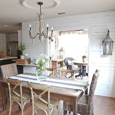 @classicnestinteriors The thing I love most about this space is that we are able to open up the french doors to add additional seating outdoors.