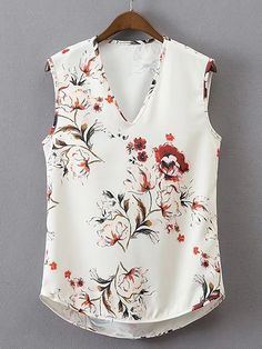 Shop Cowl Back High Low Tank Top online. SheIn offers Cowl Back High Low Tank Top & more to fit your fashionable needs. New Blouse Designs, Stylish Dress Designs, Plus Dresses, Casual Dresses, Fashion Dresses, Looks Plus Size, Stitch Fix Outfits, Clothing Hacks, Classy Outfits