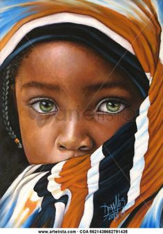 Nigerian artist creates reaic oil the new face of portrait painting the new face of portrait painting african portrait painting atAfrican Portraits PaintingsNigerian Artist Creates … Pretty Eyes, Cool Eyes, Beautiful Children, Beautiful People, African Children, African Women, Stunning Eyes, Amazing Eyes, African American Art