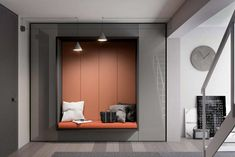 Tumidei - Smart Italian Projects, space for living and furnishing Space Saving Furniture, Home Furniture, Furniture Design, Bed Wall, House Entrance, Living Area, Modern Design, House Design, Interior Design