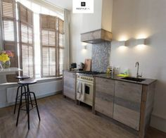 Vinyl Steigerhout Look : Best steigerhout keukens images house kitchens