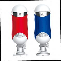 54.38$  Watch here - http://alim3d.worldwells.pw/go.php?t=32678049548 - Charm blue handsfree electric piston aircraft cup male masturbation clip suck Choucha adult sex toys for men PB20