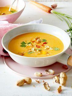 Brainfood-Suppe mit Kokosmilch & Möhren