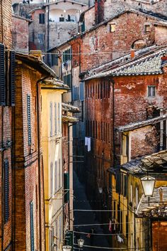 Streets of Siena