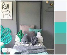▫Paleta de cores incrível pra inspirar e desejar boa noite ❤▫ . #cdaquartos #bedroom #bedtime #bedroomdecor #blogcasadasamigas