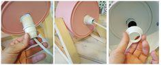manualidades hogar lamparas diseño lámpara con caja de metal diy lampara diy deco decoración interiores blog decoración nórdica accesorios para hogar