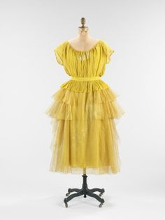 Lanvin Evening Dress 1923, Brooklyn Museum Costume Collection at the Met