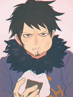 Trafalfar Law Art by Zoro, One Piece Comic, One Piece Fanart, Nico Robin, Fanarts Anime, Anime Characters, Trafalgar D Water Law, Manga Anime One Piece, One Piece Pictures