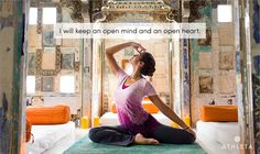 """""""I will keep an open mind and an open heart."""" Click the image and share your intentions until January 28, 2013, for a chance to win an Athleta GiftCard."""