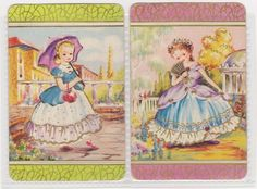 2 SINGLE COLES SWAP CARDS   -   BEAUTIFUL   CHILDREN $10