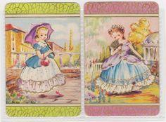 2 SINGLE COLES SWAP CARDS   -   BEAUTIFUL   CHILDREN $10