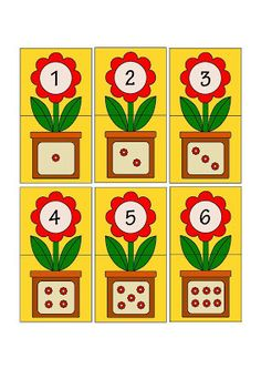 Printable flash card colletion for numbers with dots for preschool / kindergarten kids Kids Math Worksheets, Preschool Learning Activities, Kindergarten Math, Preschool Activities, Teaching Kids, Kids Learning, Numbers Preschool, Math For Kids, Kids Education