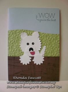 Puppy Punch Art by Rhondalyn - Cards and Paper Crafts at Splitcoaststampers