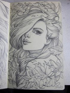 pretty drawing, I have actually attempted this. Not as amazing as theirs though.