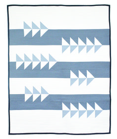 So excited to announce my newest quilt pattern, Fly By! Designed  exclusively for Stash Builder Box July subscription. You can sign up to  receive the box on their site now through July 14th. Pattern includes two  sizes- baby and throw size- and four color-way suggestions. Cheers y'all!
