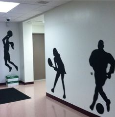 Would love to do this in the locker room hallway!