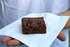 double chocolate zucchini brownie recipe