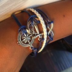 """Descriptions: Condition: New Bracelet Size: 17cm + 4cm (extend chain) (1""""= 25.4mm) Color: As Pi"""