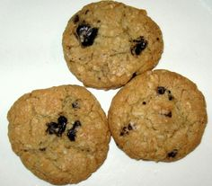 Dark Chocolate Coconut Cookies