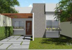 Casa moderna de dos dormitorios y 72 metros cuadrados Planos de Casas Gratis | dePlanos.Com