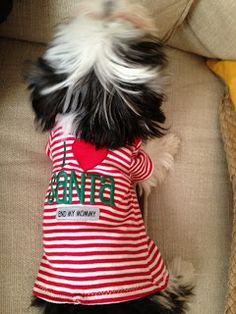 puppy shirt out of a newborn onesie