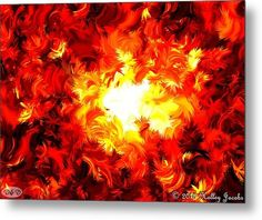 Brighter Than The Sun Metal Print By Holley Jacobs