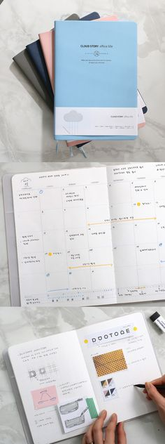 Keep dreaming and succeed in all you do with the Cloud Story Daily Planner! This beautiful dateless planner will help you reach all of your goals big and small. So, plan each step of the way and see your dreams come true in no time! ^.~*