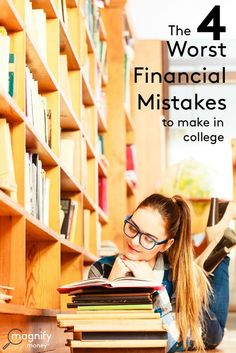 Money mistakes during college years can leave graduates dealing with debt and ruined credit scores for decades after getting a diploma. Insight into mistakes made by others can protect future and present college students from falling into the same traps. http://www.magnifymoney.com/blog/college-students-and-recent-grads/the-4-worst-financial-mistakes-to-make-in-college dorm ideas DIY dorm ideas #diy