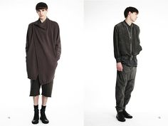 » SILENT by Damir Doma Spring/Summer 2014 Lookbook