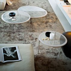 Taffy Glass and Metal Coffee table by Gallotti & Radice - Klarity