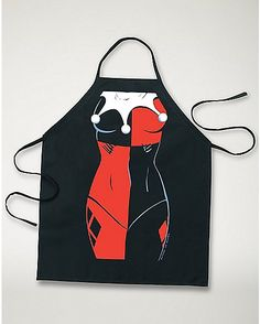 Harley Quinn DC Comics Character Apron - Spencer's