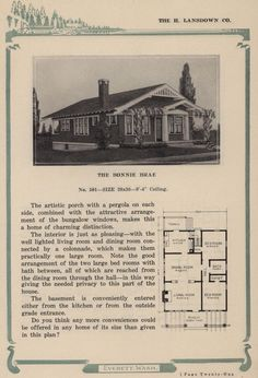 Lansdown Co., 1920.  Everett WA.  From the Association for Preservation Technology (APT) - Building Technology Heritage Library, an online archive of period architectural trade catalogs. Select an era or material era and become an architectural time traveler.