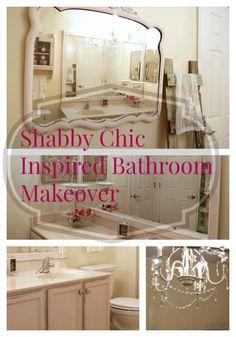 shabby chic inspired makeover