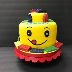 Bolo Lego: 50 Ideias de Decoração Incríveis para a Festa Bolo Lego, Cake, Desserts, Food, Decorating Ideas, Party, Pastel, Deserts, Kuchen