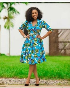Vibrant colours that makeup Ankara print designs make it easy for good match. Super Fabulous African Print Dress Styles in the entries are mind-blowing Short Ankara Dresses, Ankara Long Gown Styles, Trendy Ankara Styles, African Dresses For Women, African Print Dresses, African Print Fashion, African Attire, African Dress Designs, African Prints