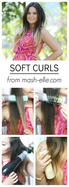 Achieve soft curls WITHOUT a curling iron! Found out the secret hair tool…