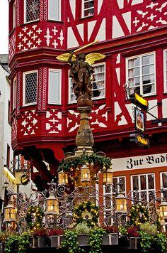 L'angel de Bernkastel Bernkastel, Renania-Palatinado, Alemania