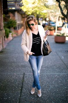 Not Your Average Cardi | Vanilla Extract SOOO excited to wear this fluffy cardigan!!