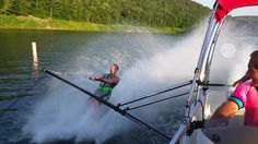 Wakeboard Towers, Water Ski, Pontoon Boat, Wakeboarding, Barefoot, Students, Train, Guys, Fit