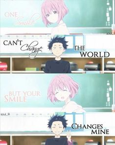 Anime: A silent voice Sad Anime Quotes, Manga Quotes, Voice Quotes, Mood Quotes, A Silent Voice Anime, Kimi No Na Wa, Dark Quotes, Anime People, Anime Life