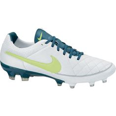 daaf87817 Nike Womens Tiempo Legacy Firm Ground Cleats UPPER  Waterproof calf leather  with mesh backing provides great comfort and touch.