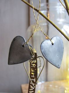Walther & Co decoration hearts from fadeinteriors.com